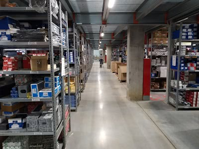 Development of warehouse management system
